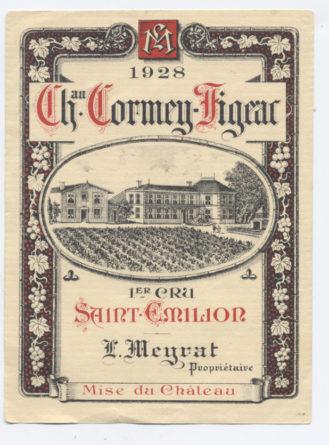 Château Cormeil-Figeac 1er cru
