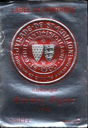 Château Cormey-Figeac de 1944