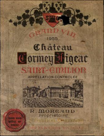 Château Cormey-Figeac de 1955