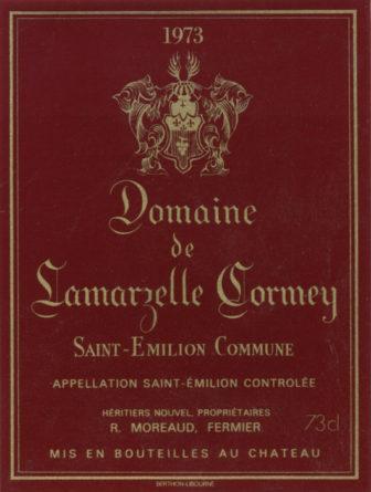 Domaine de Lamarzelle Cormey de 1973