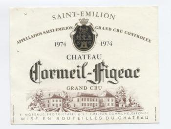 Château Cormeil-Figeac 1974