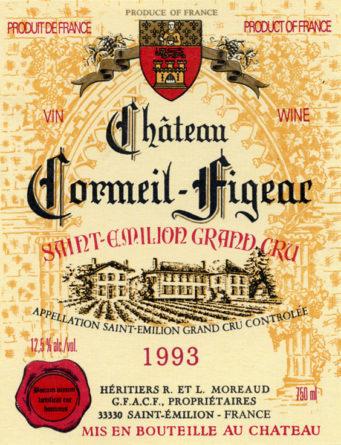 Château Cormeil-Figeac de 1993