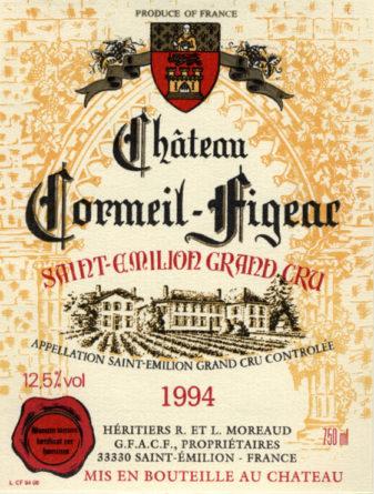 Château Cormeil-Figeac de 1994