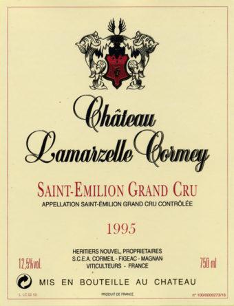 Château Lamarzelle-Cormey 1995
