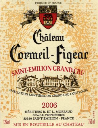 Château Cormeil-Figeac de 2006