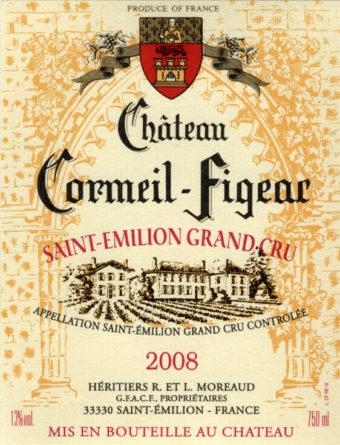 Château Cormeil-Figeac de 2008