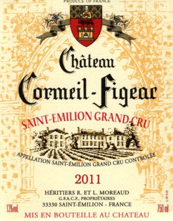 Château Cormeil-Figeac de 2011